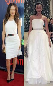 cox wedding dress courteney cox from wedding dress predictions e