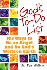 god s dr ron wolfson god s to do list