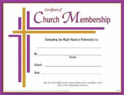 Church Membership Certificate Template best photos of church membership certificate template printable