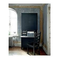 Ikea Hemnes Desk Grey Brown Hemnes Secretary With Add On Unit Black Brown Ikea Something