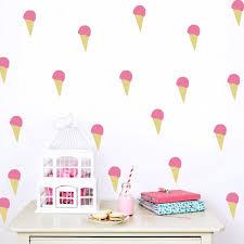 aliexpress com buy cartoon little ice cream wall stickers wall