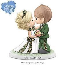 precious moments hunt wedding figurine