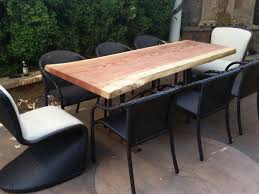 Western Red Cedar Outdoor Furniture by Outdoor Heritage Salvage