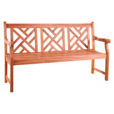 Target Threshold Tufted Bench Vifah Eucalyptus Outdoor Wood Bench Brown Target