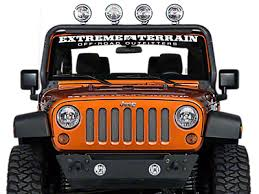 best road lights for jeep wrangler jeep wrangler lights extremeterrain free shipping
