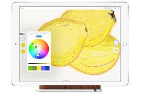 ipad pro apple pencil autodesk sketchbook app ipad and apple