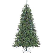 home accents 12 ft pre lit led pine set