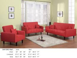 very attractive design red living room furniture impressive ideas