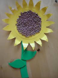 Art And Craft For Kids With Paper Plates Play And Learn With Dana Paper Plate Sunflower