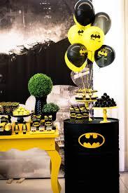 batman birthday party ideas kara s party ideas black and yellow batman birthday party kara s