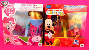 Mickey Mouse Easter Eggs Easter Eggs Toys Unboxing My Pony Disney Mickey Mouse