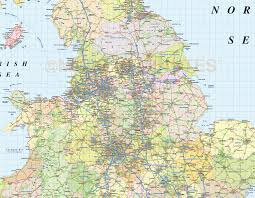 Rail Map Of Europe by British Isles 1st Level Road U0026 Rail Map 1m Scale With Regular Relief