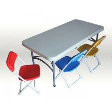 Plastic Folding Chairs Wholesale In Los Angeles Folding Kids Table Crowdbuild For