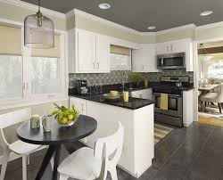 kitchen cabinets black white home design ideas