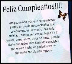 imagenes para una amiga x su cumpleaños dile feliz cumpleaños amiga carta