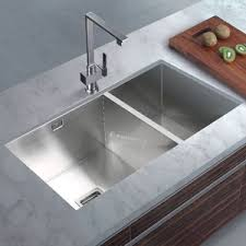stainless steel double sink undermount endearing best undermount kitchen sinks undercounter sink