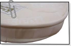 materasso culla misure materassino per culla anti soffoco anallergico su misura