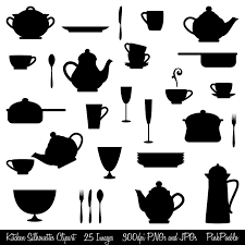 dinner silhouette complimentary dinners clipart clipart collection free