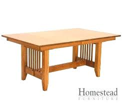 dining table bungalow dining table trestle base sears room