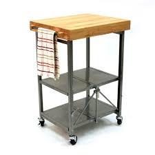 folding kitchen island popular kitchens the butcher block kitchen cart throughout