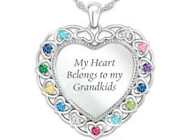 necklace with birthstones for 107 best grandmother necklace with birthstones images on