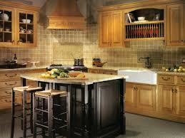 hickory wood orange zest raised door kitchen cabinet refinishing