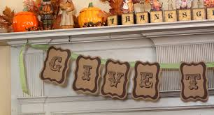 at second give thanks banner free printable