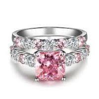 pink wedding rings pink wedding rings for women justsingit