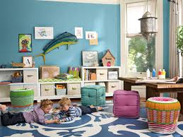 Rugs For Kids Playroom by Baby U0026 Kids Cube Ottoman And Wicker Stools With Area Rug Also