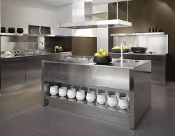 kitchen islands stainless steel kitchens stainless steel kitchen island with a bowl of fruit on