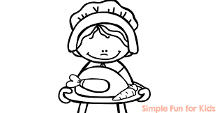 Thanksgiving Fun Pages Thanksgiving Coloring Pages Simple Fun For Kids