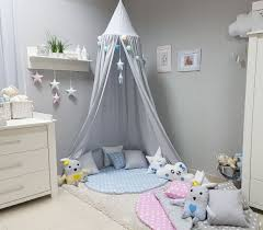 zelt kinderzimmer babymajawelt 4673 betthimmel baldachin grau sterne