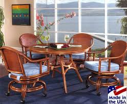 Wicker Dining Room Chairs Indoor Mandarin Rattan And Wicker Dining Set From Classic Rattan
