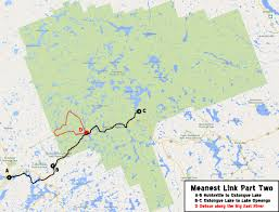 Algonquin Map Trip Log 019 Meanest Link Part Two Smedleyco Com