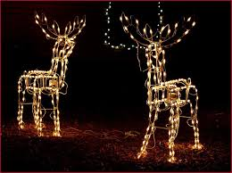 lighted reindeer outdoor decorations uk psoriasisguru
