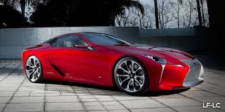 top speed of lexus lf lc lexus lf lc hybrid sports coupe concept at detroit photos 1 of 23