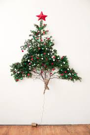 9 christmas tree 16 clever and creative christmas wall trees brit co