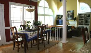 Open Floor Plan Kitchen Family Room by Tuscan Inspired Kitchen Remodel This Makes That
