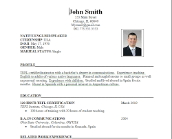 Example Of Simple Resume Format by Resume Format 19r02 Resume Format 2016 79 Amazing Basic Resume