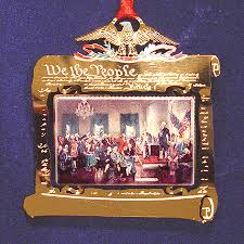 1998 signing of the constitution ornament mail order white house