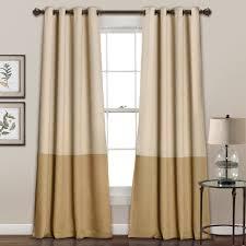 julia stripe room darkening window curtain set lush décor www
