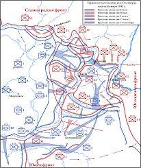 Stalingrad On Map File German Summer Offensive Towards Stalingrad July September