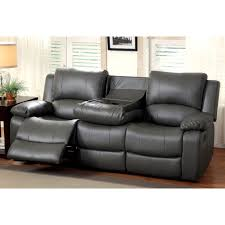 Leather Recliner Chair With Cup Holder Sectional Recliner Sofa With Cup Holders Design