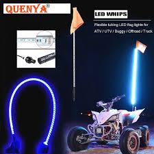 led light whip for atv 2018 best selling 1 5m led whip light 5ft led flag pole safety