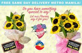 sunflower delivery sunflowers delivery in the philippines flower delivery philippines