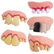 popular halloween props denture buy cheap halloween props denture
