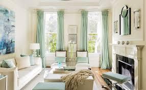 Cream Silk Drapes 20 Different Living Room Window Treatments