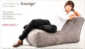 ambient lounge bean bag style guru fashion glitz glamour