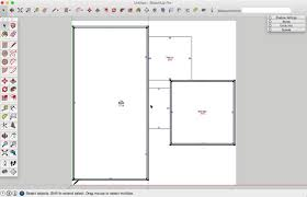 How To Make A Floor Plan In Google Sketchup by How To Draw A Basic 2d Floor Plan From An Image File In Sketchup