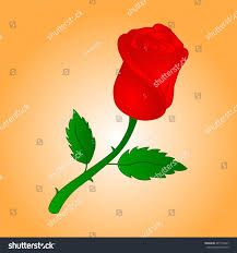 rose colored icon logo cartoon vector stock vector 497112061